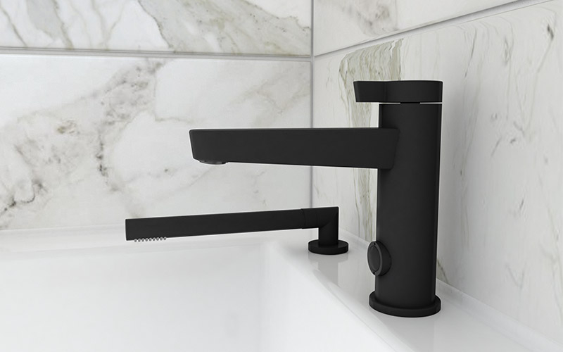 MATTE BLACK AND WHITE, THE MOST SOUGHT AFTER BATHROOM FAUCETS