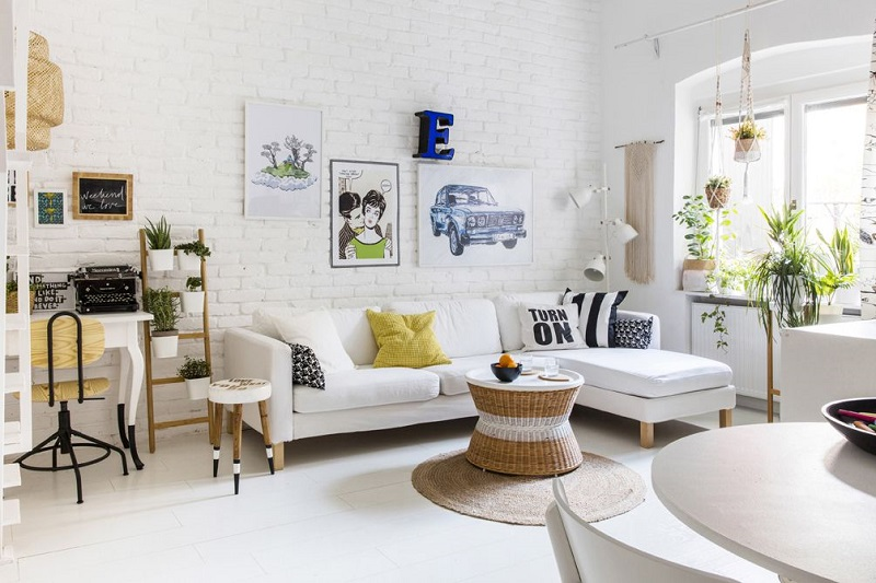 Decorating a Small Living Room