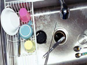 odor under kitchen sink