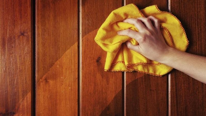 clean wooden doors