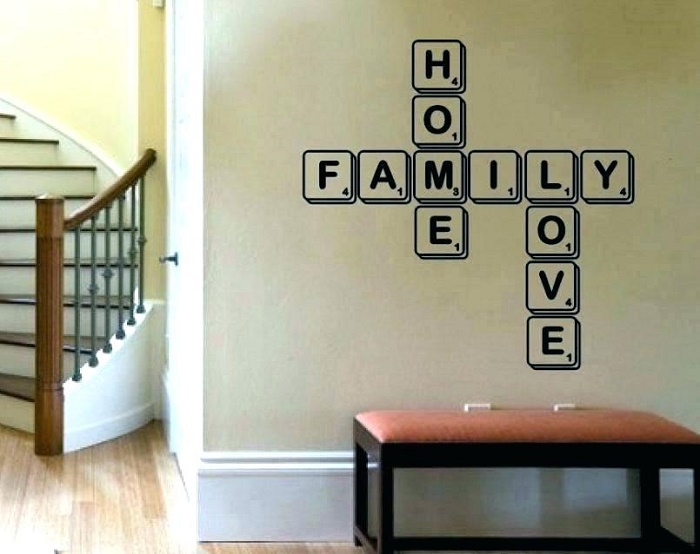 letter decoration ideas
